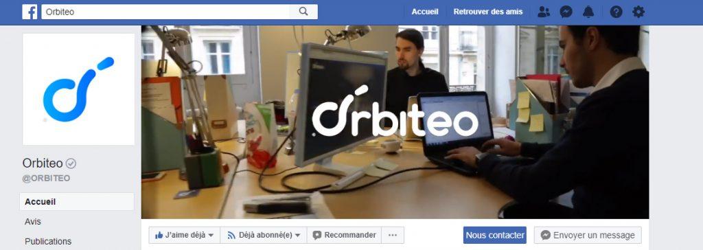 page facebook orbiteo