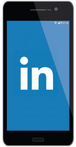 linkedin-smartphone-prospection-digitale