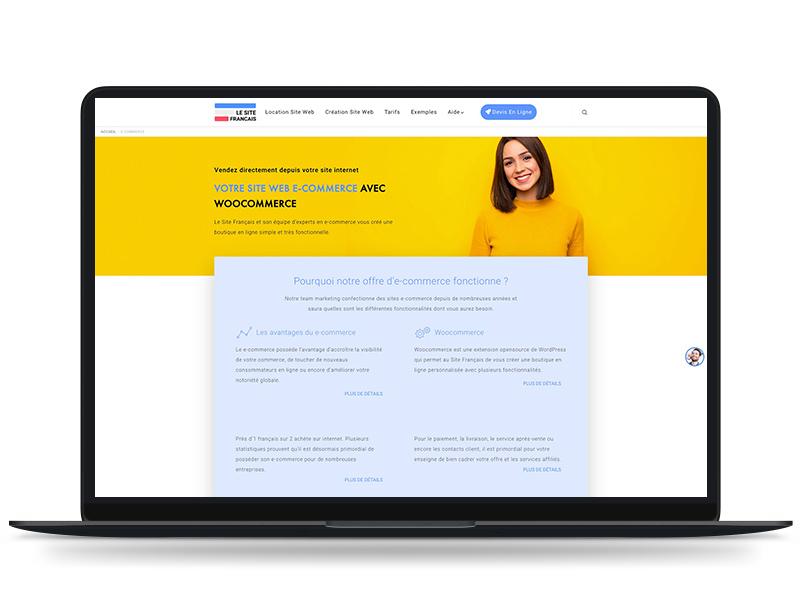 site-francais-laptop