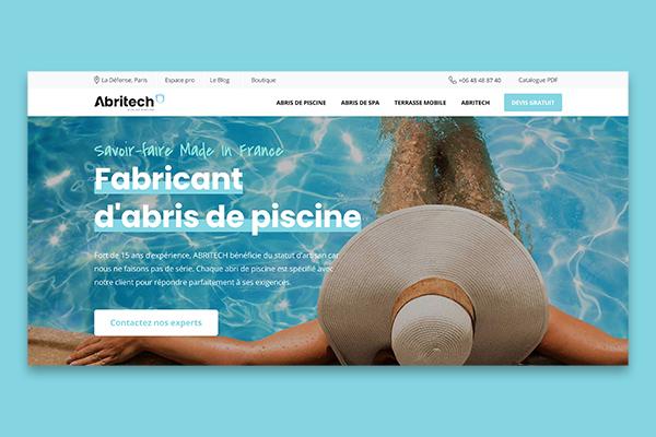 Abritech – Fabricant d'abris de piscine