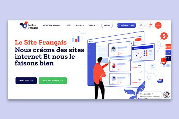 Le Site Français – Agence Web en Ligne